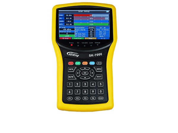 SatKing SK-7000 High Definition Terrestrial TV Meter