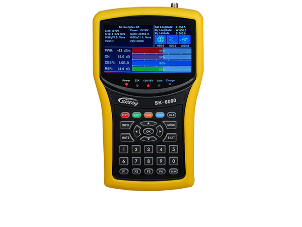 SatKing SK-9000B High Definition Combination Meter